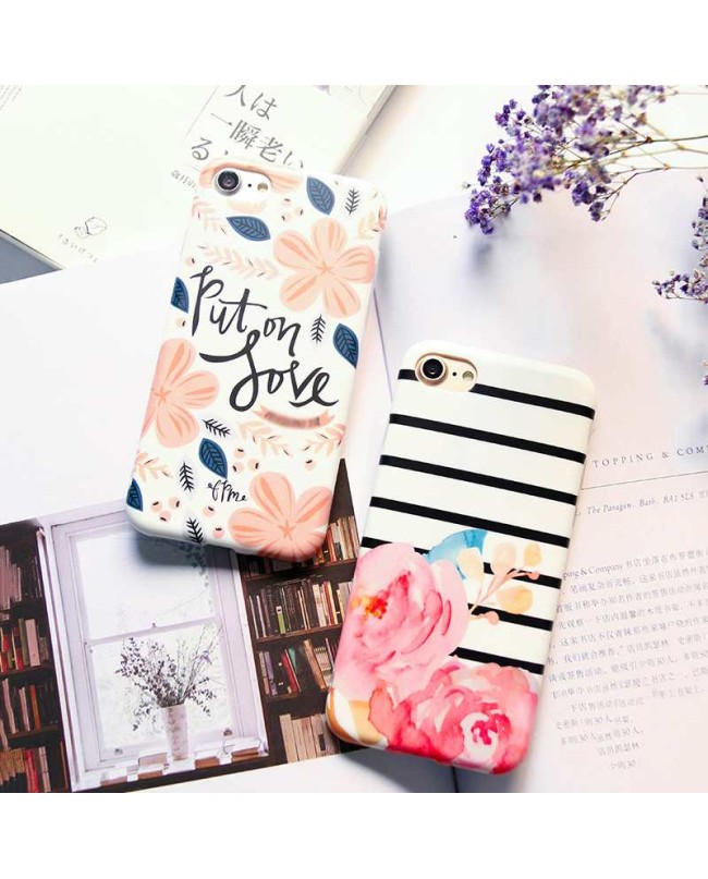 Put On Love Cherry Blossom iPhone Case